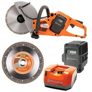 Husqvarna K535I 9 Cordless Battery Operated WetDry Chop Saw PACKAGE-2