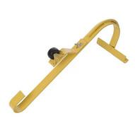Acro Building 11084 Roof Ridge Ladder Hook With Fixed Wheel & Swivel Bar-1