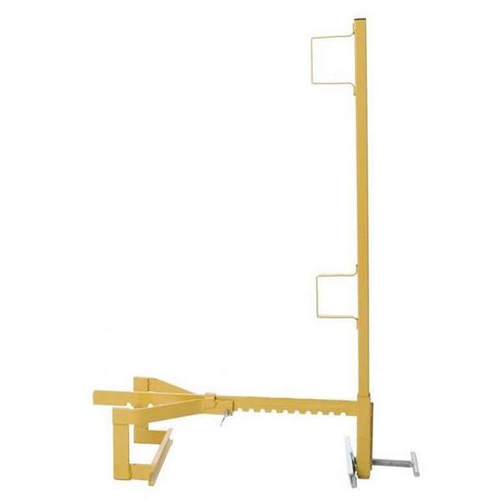 Acro Building 12090 Parapet Wall Guardrail Systems Bracket & Post-1