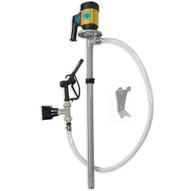 Action Pump 7500 55 Gallon Drum Pump Kit Polypropylene 110v With Flow Meter-1