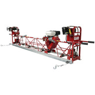 Allen Engineering SAE1232M Truss Screed Lightweight Aluminum Engine Driven SAE12 Complete 32.5' W Manual Winches-1