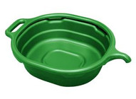 Lisle 17982 Green 4.5 Gallon Oval Drainpan-1