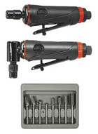 Astro Pneumatic 219 Onyx Dual Die Grinder Kit With Burrs-1