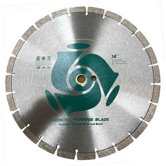 Imer B000070 10 GP Series 10� Wet & Dry General Purpose Masonry & Stone Blade-1