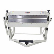 Baileigh BB-5016F-DS Manually Operated Reversible Box And Pan Brake 50 Length 16 Gauge Mild Steel Capacity-2