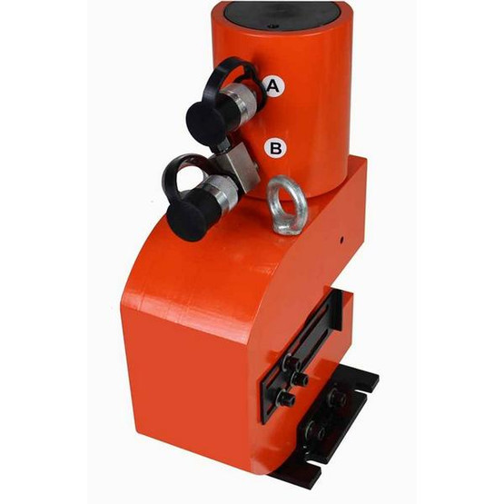 Baileigh HP-50H 110 Volt 50 Ton Hydraulic Punch Includes 5 Sets Of Punches And Hydraulic System-3