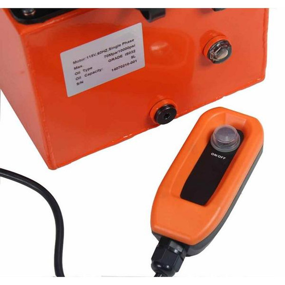 Baileigh HP-50H 110 Volt 50 Ton Hydraulic Punch Includes 5 Sets Of Punches And Hydraulic System-1