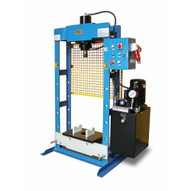 Baileigh HSP-30M 220v Single Phase 30 Ton Hydraulic H-frame Press 9.5 Stoke-1