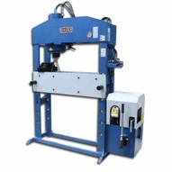 Baileigh HSP-66M-HD 220v 3 Phase 66 Ton Hydraulic H-frame Press 9.84 Stoke-3