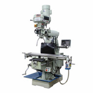 Baileigh VM-949E-VS 220v Single Phase Variable Speed Vertical Mill 9 X 49 Table Includes X Axis Power Feed And Dro-1