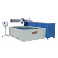 Baileigh WJ-85CNC 460v 3ph 60 Htz 60 X 98 3 Axis Cnc Flying Arm Water Jet With Direct Drive Pump-2
