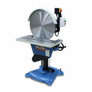 Baileigh DG-500HD 220 Volt 2hp Single Phase Reversing Disk Grinder W Brake. 20 Disc Diameter Tilting Table-3