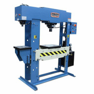 Baileigh HSP-60M-C 220v 3 Phase 60 Ton Hydraulic H-frame Press With Additional Integrated 15 Ton Arbor Press-1