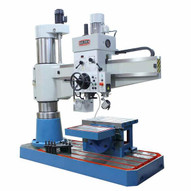 Baileigh RD-1600H 220 Volt Three Phase Variable Speed Radial Drill Mt5 Spindle Includes Quick Change Tool Set And Tappinig Chuck-2