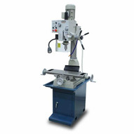 Baileigh VMD-828G 110v Gear Driven Mill And Drill Includes Stand Coolant System Work Light And R8 Spindle 8 X 28 Table-5