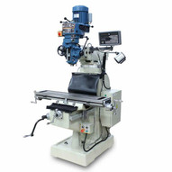 Baileigh VM-942E-1 220v 1ph 3hp Vertical Mill 9x42 Table 8 Speed Includes R8 Spindle Coolant Work Light X&y Dro-3
