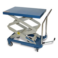 Baileigh Industrial B-cartx2 Double Arm Hydraulic Lift Cart 660 Lb Capacity 48 Maximum Height Table Size 32.2 X 20.4-2