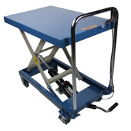 Baileigh Industrial B-cart Single Arm Hydraulic Lift Cart 660 Lb Capacity 30 Maximum Height Table Size 32.2 X 20.4-1