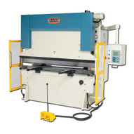 Baileigh Industrial Bp-9078cnc 220v 3 Phase 90 Ton Hydraulic Press Brake With Delem Cnc Control. Gap Between Housings Is 61.-1