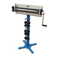 Baileigh Industrial Br-18m-18 Manually Operated Bead Roller. 18 Gauge Maximum Capacity. 18 Throat Depth.-1