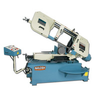 Baileigh Industrial Bs-330sa 220v 3phase Semi-automatic Metal Cutting Band Saw. 1-1 4 Blade Width.-1