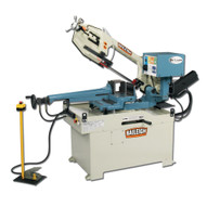 Baileigh Industrial Bs-350sa 220v 1 Phase Dual Mitering Semi-automatic Metal Cutting Band Saw. Variable Speed (66-280 Fpm).-1