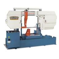 Baileigh Industrial BS-700SA-A Semi Automatic Heavy Duty Column Type Band Saw 27.5 Round Capacity-1