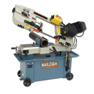 Baileigh Industrial Bs-712m 110 Volt Metal Cutting Band Saw With Vertical Cutting Option. Mitering Vice. 3 4 Blade Width.-1
