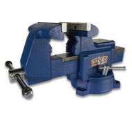 "Baileigh Industrial BV-5I 5"" Industrial Bench Vise With Integrated Pipe Jaws"