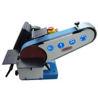 Baileigh Industrial Dbg-62 110 Volt Combination Belt And Disk Grinder. 6 Disk Diameter. 2 Belt Width. 40 Belt Length-1