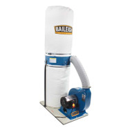 Baileigh Industrial Dc-1300b 1-1 2 Hp 110v Bag Style Dust Collector 1300 Cfm 30 Micron Upper And Lower Bags-5