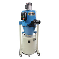 Baileigh Industrial Dc-1450c 2 Hp 220v Single Phase Cyclone Style Dust Collector 1450 Cfm 28 Gallon Drum-3