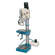 Baileigh Industrial Dp-1500g 220 Volt 3 Phase Gear Driven Drill Press. Power Feed. 1-1 2 Mild Steel Drilling Capacity.-1