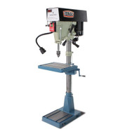 Baileigh Industrial Dp-15vsf 110 220v Single Phase (prewired 110) 15 Variable Speed Floor Drill Press-3