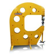 Baileigh Industrial Ew-37hd Manually Operated English Wheel 37 Throat Depth 10x3 Top Wheel & 8 - 3x3 Anvils-1