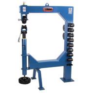 Baileigh Industrial Ew-40 Manually Operated English Wheel. 16 Gauge Mild Steel Capacity.-1