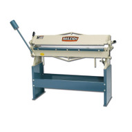 Baileigh Industrial Hb-4816 Manually Operated Hand (straight) Brake 4' Length16 Gauge Mild Steel Capacity Includes Stand-1