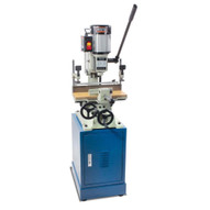 Baileigh Industrial Mc-1000 110v Heavy Duty Square Chisel Mortiser 1-4 To 1 Chisel Capacity Includes Stand And One Chisel-1