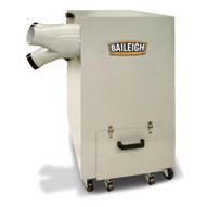 Baileigh Industrial MDC-1800-1.0 220v Single Phase Metal Working Dust Collector-3