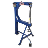 Baileigh Industrial Ph-24a Pneumatic Operated Planishing Hammer 24 Throat Depth-4