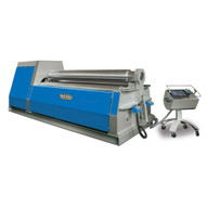 Baileigh Industrial Pr-10500-4cnc 480 Volt Three Phase 60 Hz Cnc Four Roll Plate Roll. 120 X .5 Mild Steel Capacity-2