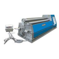 Baileigh Industrial Pr-10500-4 480 Volt Three Phase 60 Hz Four Roll Plate Roll. 120 X .5 Mild Steel Capacity-1