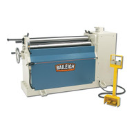 Baileigh Industrial Pr-409 220 Volt Three Phase Hydraulic Plate Roll. 4' Length 9 Gauge Mild Steel Capacity.-1