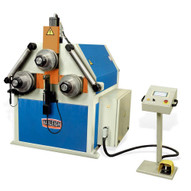 Baileigh Industrial R-cnc120 220v Three Phase Computer Controlled Hydraulic Double Pinch Profile Bending Machine-1