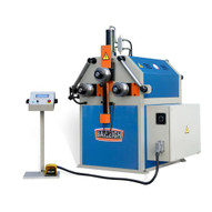 Baileigh Industrial R-cnc55 220v Three Phase Computer Controlled Hydraulic Double Pinch Profile Bending Machine-1