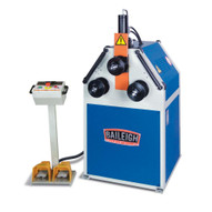 Baileigh Industrial R-m55h 220v Single Phase Roll Bender With Two Driven Rolls And Hydraulic Movement Of The Top Roll-1
