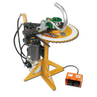 Baileigh Industrial Rdb-125 110 Volt Hydraulic Rotary Draw Tube And Pipe Bender. 2 Schedule 40 Pipe Cap. 7 Clr Maximum-1
