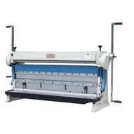 Baileigh Industrial Sbr-5216 3 In 1 Combination Shear Brake And Roll. 52 Bed Width 16 Gauge Mild Steal Capacity-1