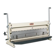Baileigh Industrial Sbr-5220 3 In 1 Combination Shear Brake And Roll. 52 Bed Width 20 Gauge Mild Steal Capacity-1