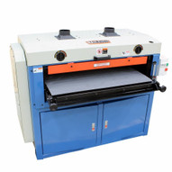 """Baileigh Industrial SD-376 220V Single Phase 7.5HP 37"""" x 6"""" Dual Drum Sander with 2 Speed Conveyor"""